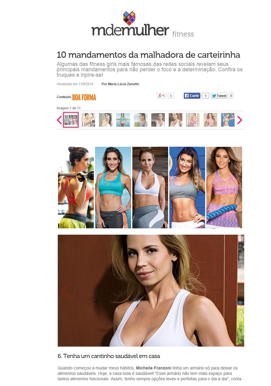 Blog da Mimis na Boa Forma online 11.09.2014