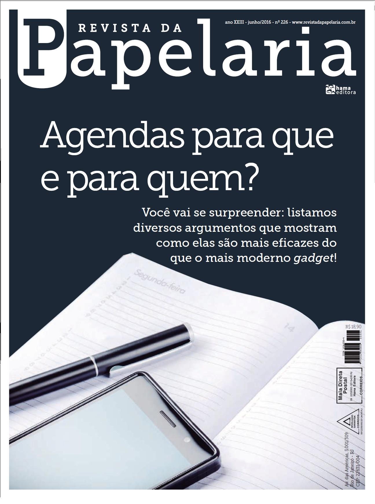 Capa da Revista da Papelaria _ Julho