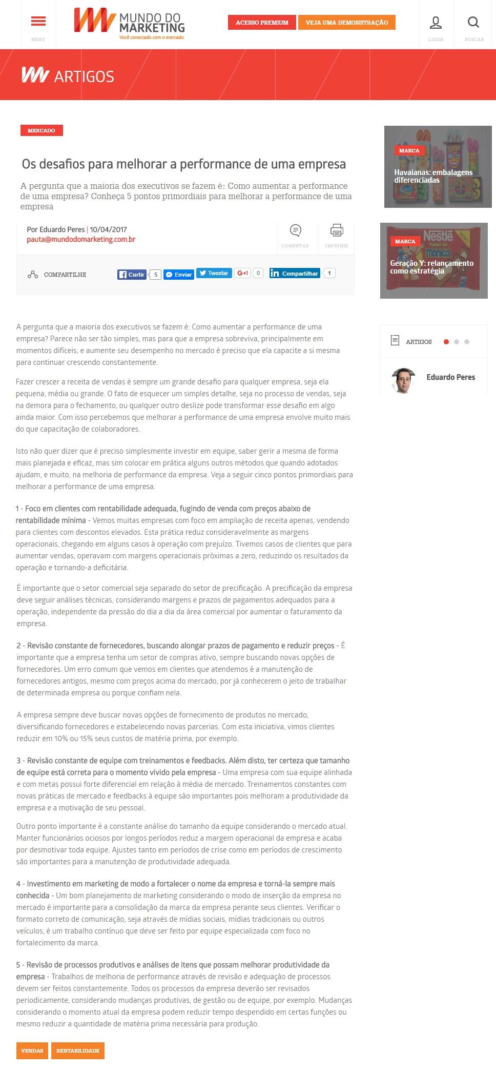 Globaltrevo No Mundo Do Marketing 10 04 2017 Conect News